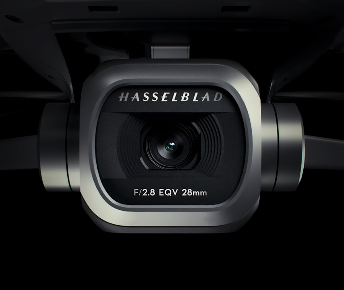Camara hasselblad del dron Mavic 2 Pro