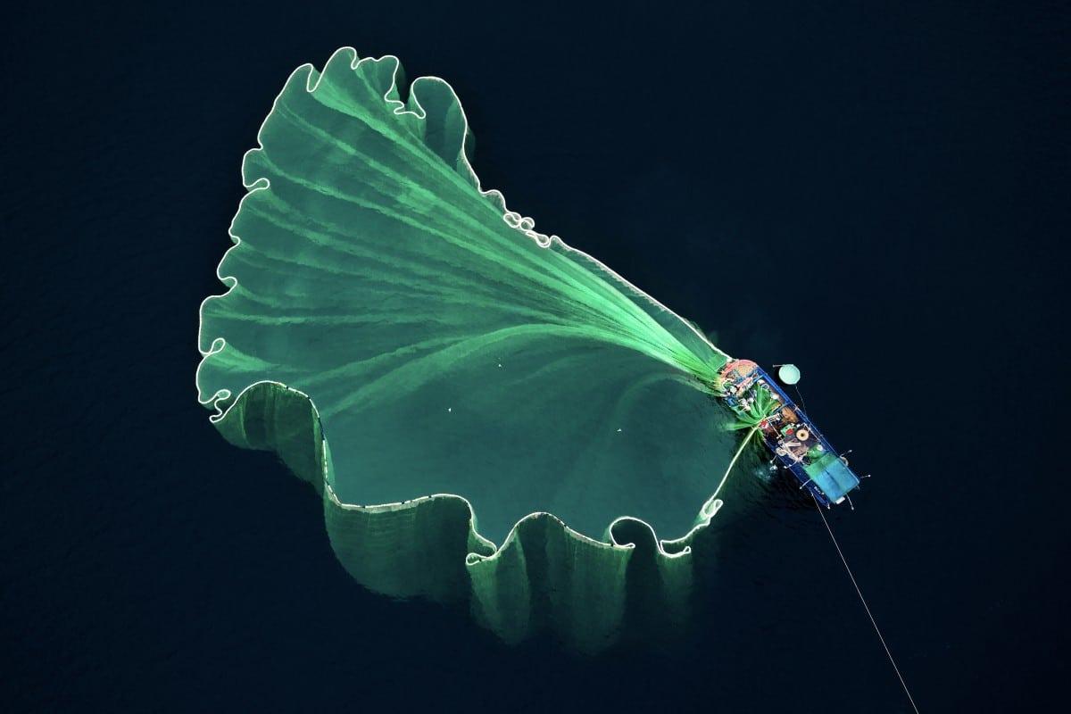 Dronestagram 2018-Red de pesca por Trung Pham
