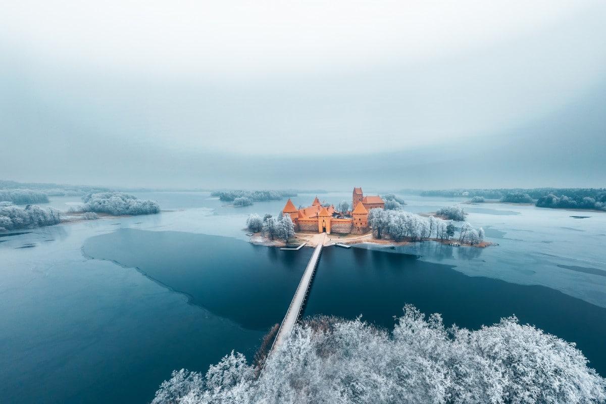 Dronestagram 2018-Wonderland de invierno por Andrius A
