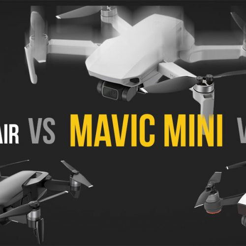 DJI Mavic Mini vs DJI Mavic Air vs DJI Spark